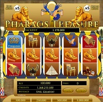 Pharaos Treasure FWX R4R